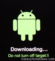 galaxy note 10 1 download mode